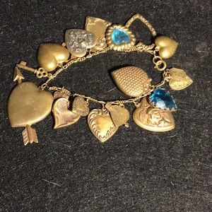 Victorian/Repousse Piddly Links Bracelet